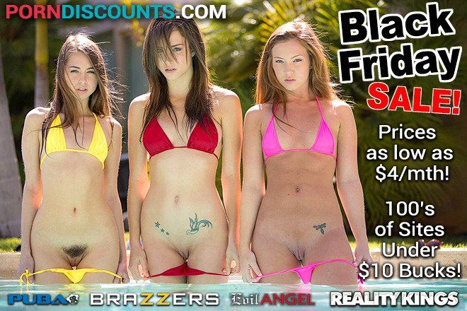 PornDiscounts Black Friday Sale AD